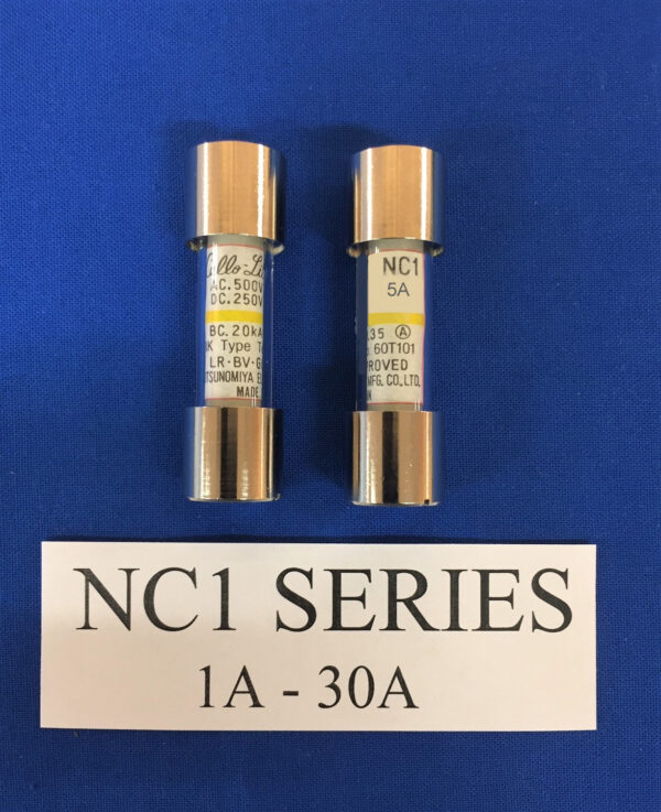 Cello-Lite NC1-5A fuse
