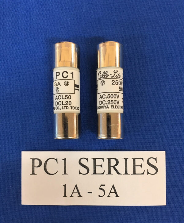 Cello-Lite PC1-3 fuse