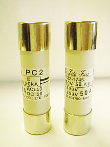 Cello-Lite PC2-50 fuse