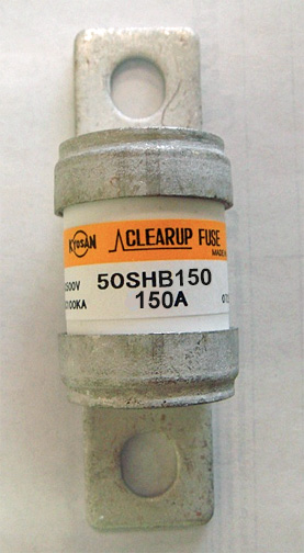Kyosan Clearup 50SHB-150 fuse