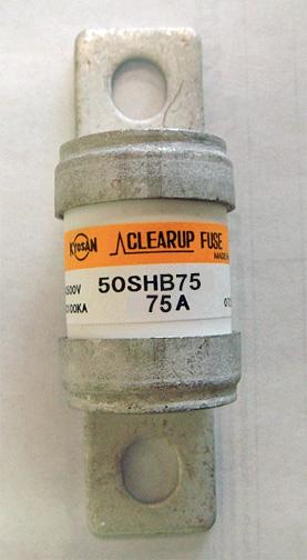 Kyosan ClearUp 50SHB-75 fuse