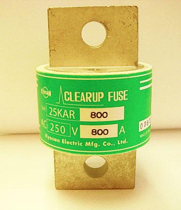 Kyosan-Clearup-25KAR-800 fuse