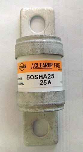 Kyosan Clearup 50SHA-25 fuse