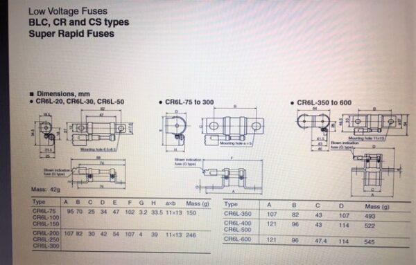 Fuji CR6L-100S/UL