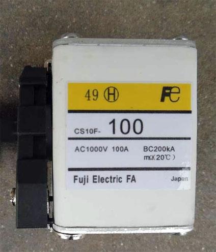 Fuji-CS10F-100 fuse