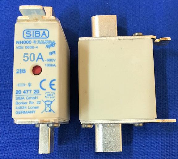 SIBA 2047720.50 fuse