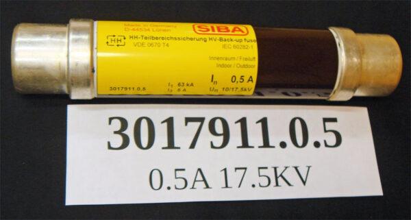 SIBA 3017911.0.5 fuses