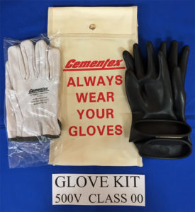 Cementex 500 Volt Glove Kit