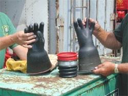 Glove testing