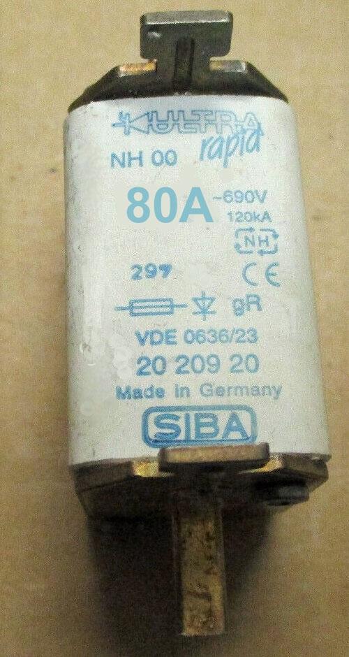 SIBA 2020920.80 fuse